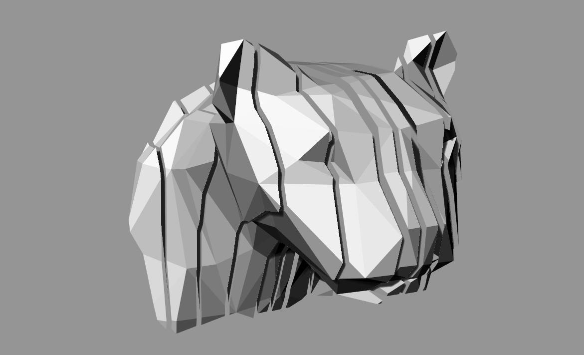 Polygonenzoo  Ansicht LEO Schichten